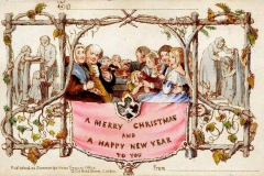 Victorian Christmas Card.