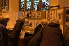 'Cowtown' exhibition St Mary's Church.