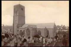 Late Victorian view of St Mary's.