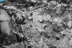 St Mary's from the air circa 1928.