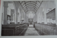 Church interior circa 1910.