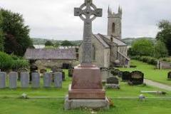 Good example of 'Celtic Cross' memorial.