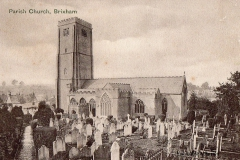 Post card of St Mary's Church.