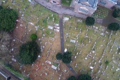 Grave Yard from the tower.