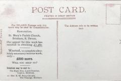 Post Card details.