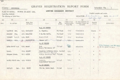 Graves Registration.