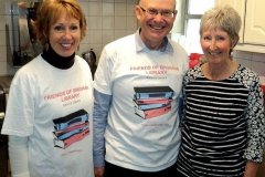 Members of 'Friends of Brixham Library' at project event.